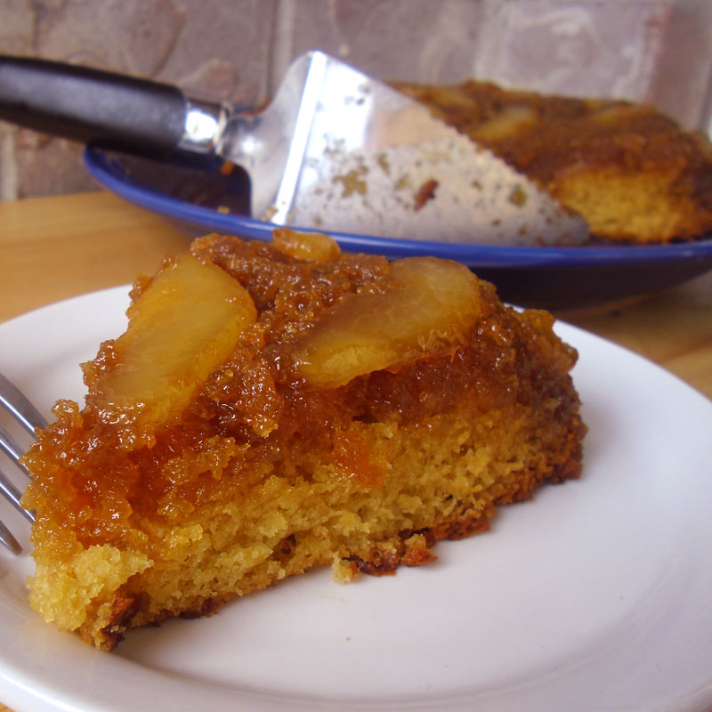 Pear Upside-Down Cake | Food Apparel