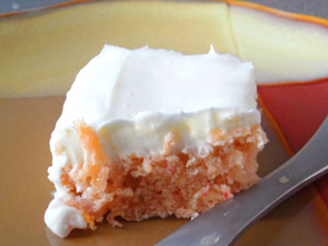 Fresh Strawberry Cake with Cream Cheese Frosting at FoodApparel.com