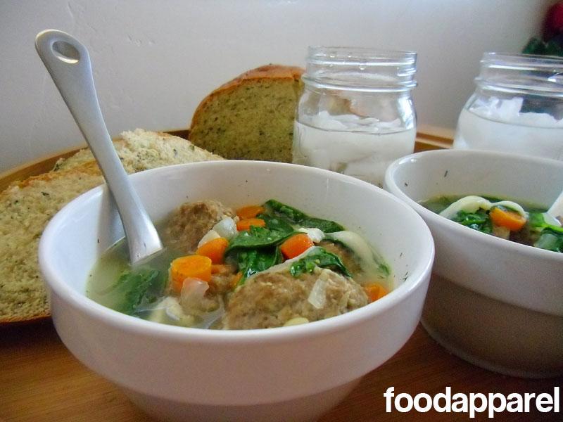 Italian Wedding Soup Classic Style