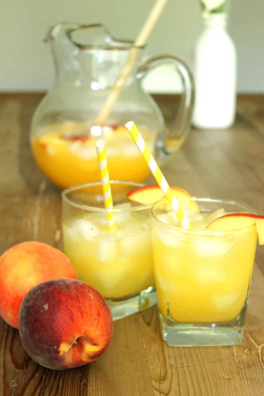 Peach Lemonade Recipe | Food Apparel