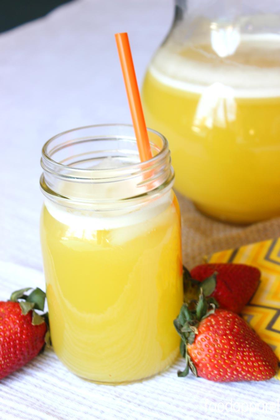 Easy Agua De Pina Recipe Mexican Pineapple Water Food